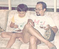 With Dad 8½ years Jakarta